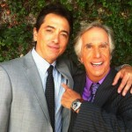Scott Baio and Henry Winkler