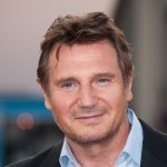Liam Neeson poses on the red carpet before the screening of his movie &#8216;Taken 2&#8217; during the 38th Deauville American Film Festival, France, on September 7, 2012