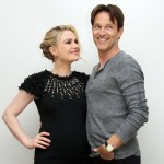 Anna Paquin and Stephen Moyer at the 'True Blood' Press Conference at the Four Seasons Hotel, Beverly Hills, on June 24, 2012