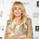 Dina Lohan attends EQ Enterprises And Manhattan Motorcars Present: NY Fashion Week Kickoff Event at Bryant Park Hotel in New York City on February 10, 2012