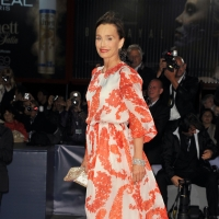 Kristin Scott Thomas attends the 'Cherchez Hortense' Premiere during The 69th Venice Film Festival at the Palazzo del Cinema in Venice, Italy on September 1, 2012