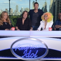Mariah Carey, Keith Urban, Ryan Seacrest, Nicki Minaj and Randy Jackson on 'American Idol'