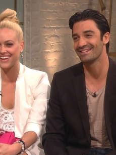 Peta Murgatroyd and Gilles Marini on Access Hollywood Live, Sept. 11, 2012