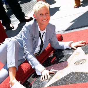 Ellen DeGeneres Gets Her Star On The Hollywood Walk Of Fame