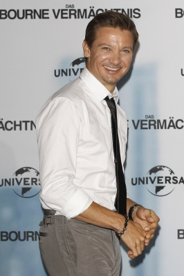Jeremy Renner attends a photocall to promote 'The Bourne Legacy' at Ritz Carlton in Berlin on September 3, 2012