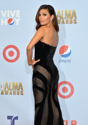 Eva Longoria is seen at 2012 NCLR ALMA Awards in Pasadena, Calif. on September 16, 2012