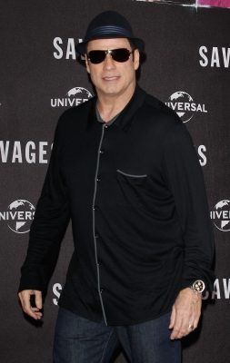 John Travolta attends the 'Savages' Photocall at Hotel Adlon on September 17, 2012 in Berlin, Germany