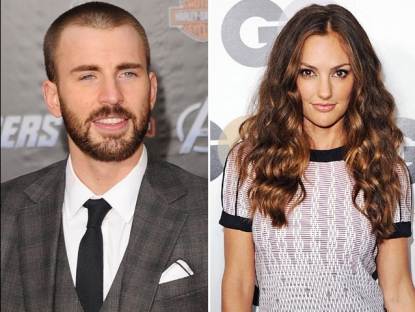 Chris Evans / Minka Kelly