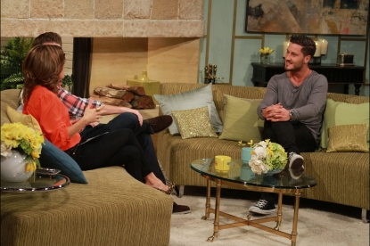 'Dancing's' Val Chmerkovskiy visits Access Hollywood Live, September 5, 2012