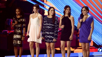 USA's Fierce Five Hit The 2012 MTV Video Music Awards