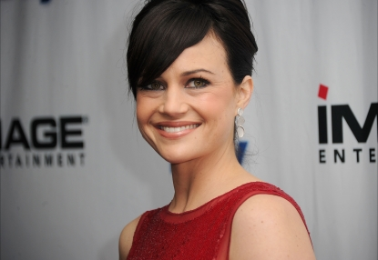 Carla Gugino arrives at the premiere of Image Entertainment's 'Every Day' in Los Angeles on January 11, 2011