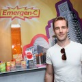 James Van Der Beek checks out Emergen-C!
