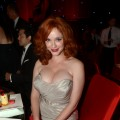 Christina Hendricks spotted at the 64th Annual Primetime Emmy Awards Governors Ball at Nokia Theatre L.A. Live in Los Angeles on September 23, 2012
