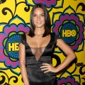 Olivia Munn arrives at HBO's Official After Party at The Plaza at the Pacific Design Center in Los Angeles on September 23, 2012