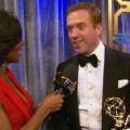 Emmys 2012 Backstage: Damian Lewis Dishes On Meeting President Obama