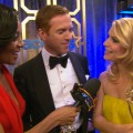 Emmys 2012 Backstage: Damian Lewis &amp; Claire Danes Discuss Homeland&#8217;s &#8216;Intense&#8217; Season 2