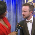 Emmys 2012 Backstage: Aaron Paul 'Can't Believe' He Won