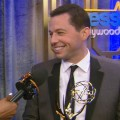 Emmys 2012 Backstage: Jon Cryer Discusses His Shocking Win