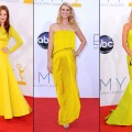 Julianne Moore, Claire Danes and Julie Bowen are gorgeous in yellow at the 2012 Emmys