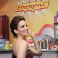 Tina Fey is all smiles as she picks up a year's supply of Emergen-C