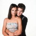 Katie Holmes as Joey and Joshua Jackson a Pacey in Warner Bros.Television&#8217;s &#8216;Dawson&#8217;s Creek&#8217;