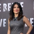 Salma Hayek is seen at the 'Savages' Rome photocall at Hotel de Russie in Rome on September 25, 2012