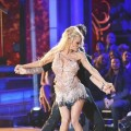 Tristan MacManus and Pamela Anderson perform during the first week of 'Dancing with the Stars: All Stars,' Sept. 24, 2012