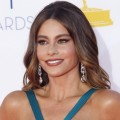 Sofia Vergara is seen at the Emmy Awards in Los Angeles on September 23, 2012