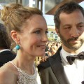 Emmys 2012: Leslie Mann &amp; Judd Apatow Have A Blast