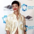 Rihanna attends the grand opening of the 40/40 Club at Barclays Center on September 27, 2012 in Brooklyn, New York     