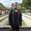 Kanye West arrives at the Christian Dior Spring / Summer 2013 show as part of Paris Fashion Week on September 28, 2012 in Paris, France