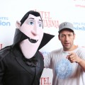 Adam Sandler arrives at the Los Angeles special screening of 'Hotel Transylvania' held at Pacific Theatre at The Grove on September 22, 2012 in Los Angeles