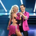 Chelsie Hightower and Helio Castroneves pose during Week 2 of 'Dancing with the Stars: All-Stars,' Oct. 1, 2012