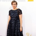 Lena Dunham arrives at the 64th Primetime Emmy Awards at Nokia Theatre L.A. Live in Los Angeles on September 23, 2012