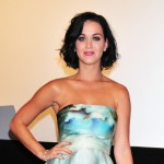 Katy Perry attends the stage greeting of the 'Katy Perry: Part of Me' at Roppongi Hills in Tokyo on September 25, 2012