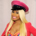 Nicki Minaj attends her 'Pink Friday' fragrance launch at Macy's Herald Square in New York City on September 24, 2012