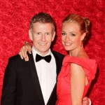 Cat Deeley and Patrick Kielty attend the 64th Primetime Emmy Awards Governors Ball at Los Angeles Convention Center on September 23, 2012 in Los Angeles