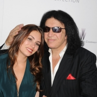 Sophie Simmons and Gene Simmons arrive at the &#8216;Lawless&#8217; Los Angeles Premiere at ArcLight Cinemas, Los Angeles, August 22, 2012
