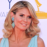 Heidi Klum dazzles at the 2012 Emmy Awards