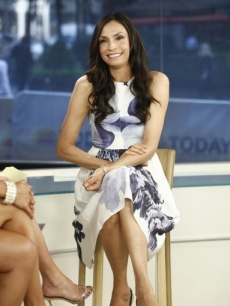 Famke Janssen appears on the 'Today' show in New York City on September 28, 2012