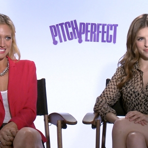 Anna Kendrick & Brittany Snow Talk Pitch Perfect Puke Scene