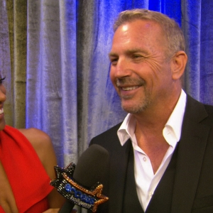 Emmys 2012 Backstage: Kevin Costner &amp; Tom Berenger Talk Emmy Speech Nerves