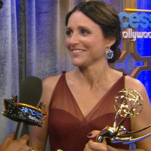 Emmys 2012 Backstage: Julia Louis-Dreyfus Wins For Veep