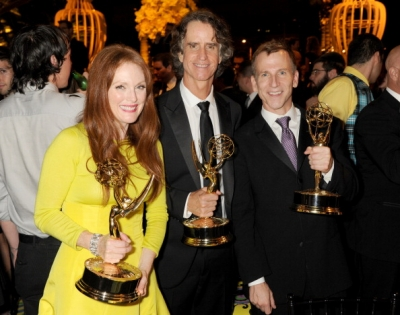 Julianne Moore, 'Game Change' writer/director Jay Roach & guest attend HBO's Official Emmy After Party at The Plaza at the Pacific Design Center