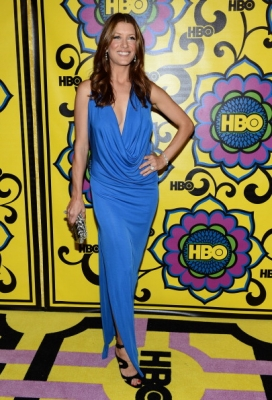 Kate Walsh arrives at HBO's Official Emmy After Party at The Plaza at the Pacific Design Center on September 23, 2012 in West Hollywood