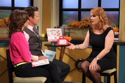 Sarah Ferguson, the Duchess of York, visits Access Hollywood Live on September 27, 2012