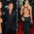 Stacy Keibler and George Clooney step out at the &#8216;Argo&#8217; Los Angeles Premiere in Beverly Hills, Calif. on October 4, 2012