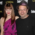 Amber Tamblyn and David Cross arrive at Entertainment Weekly's celebration honoring the 17th Annual Screen Actors Guild Awards nominees at Chateau Marmont on January 29, 2011 in Los Angeles