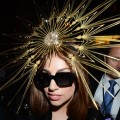 Lady Gaga visits Harrods London to celebrate the launch of Fame at Harrods in London on October 7, 2012