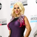 Christina Aguilera is seen during the 40th Anniversary American Music Awards nominations press conference in Los Angeles on October 9, 2012